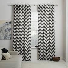 Grey And White Chevron Curtains by Circo Curtain Panel Pink Chevron Print