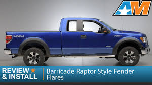 2009-2014 F-150 Barricade Raptor Style Fender Flares Review ... Dodge Bushwacker Photo Gallery Rock Guards Linexd Gaurds And Fender Flares Extafender 12016 Ford F350 Front Toyota Pocket Style Flare Set Of 4 092014 F150 Barricade Raptor Review Boltriveted For 62018 Tacoma Aev Ram High Mark Free Shipping 22015