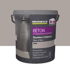 enduit beton cire exterieur enduit béton resinence gris ombre 4 l leroy merlin