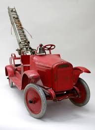 100 Antique Toy Fire Trucks Buddy L Aerial Ladder Truck Pressed Steel Circa 19261930