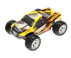 1/18 Vortex RC Monster Truck 4WD Electric 2.4GHz Yellow - Zandatoys