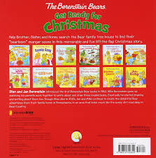 Berenstain Bears Christmas Tree Book by Amazon Com The Berenstain Bears Get Ready For Christmas A Lift