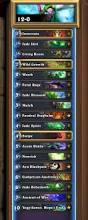 Amaz Deck List by Heroic Tavern Brawl 2 Pro And Streamer Deck Lists U0026 Results