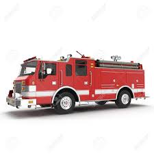 100 Fire Truck Red Stock Illustration