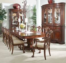 Heritage Mahogany 13 Piece Dining Set Full View 1