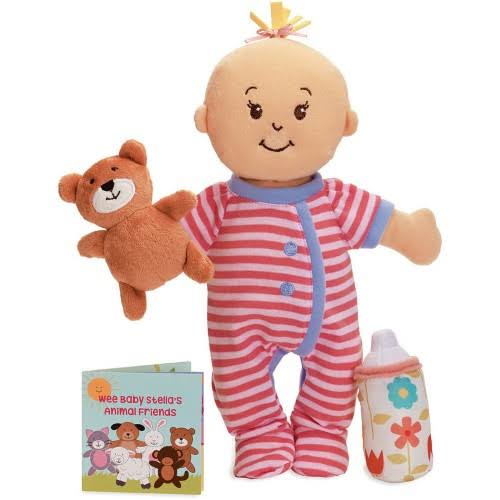 Manhattan Toy Wee Baby Stella Sleepy Time Doll Set