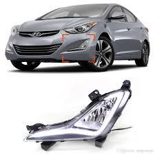 new car drl kit for hyundai elantra 2014 2015 led daytime running