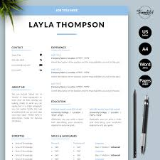 Creative & Modern Resume Templates / CV Examples & Samples ... Cv Template For Word Simple Resume Format Amelie Williams Free Or Basic Templates Lucidpress By On Dribbble Mplates Land The Job With Our Free Resume Samples Sample For College 2019 Download Now Cvs Highschool Students With No Experience High 14 Easy To Customize Apply Job 70 Pdf Doc Psd Premium Standard And Pdf