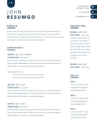 NYX – Contemporary Simple Resume Template - ResumGO.com Cv Template For Word Simple Resume Format Amelie Williams Free Or Basic Templates Lucidpress By On Dribbble Mplates Land The Job With Our Free Resume Samples Sample For College 2019 Download Now Cvs Highschool Students With No Experience High 14 Easy To Customize Apply Job 70 Pdf Doc Psd Premium Standard And Pdf