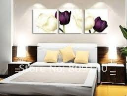 Modern Oil Painting On Canvas Flowers Pure Beauty 100 Hand Painted Bedroom Decor Hotel Artwork Art Gallery