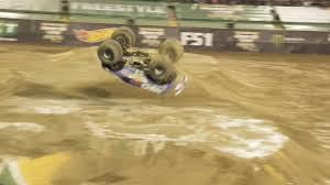 100 Monster Truck Pulls VIDEO Truck Pulls Off Front Flip For First Ever Time