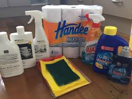 my konmari journey komono household supplies by trade