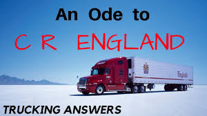 100 Cr England Trucking Company An Ode To CR Trucking Answers Poetry Division