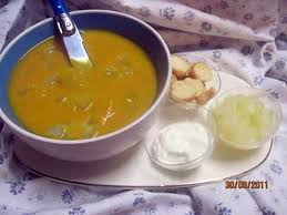 cuisiner le patisson blanc recette de soupe de potiron aux cubes de pâtisson blanc