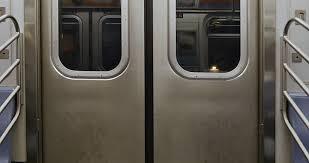 USA New York September 2011 New York Metro Station The Train