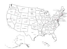 Us State Map Outline Best United States Labeled Ideas On Blank Western Hemisphere Fieldstation Free Printable