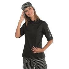 veste cuisine femme manche courte veste de cuisine femme manches courtes chez bga vêtements