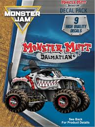 Monster Jam Monster Mutt Dalmatian Trucks Decal Pack | Truck Decals ... Bigfoot Monster Truck Trailer Playskool Custom Stickers Labels Pirates Curse Decal Jam Stickers Decalcomania Giant Blaze And The Machines Wall 38 12in X 16 Dcor Grave Digger Sheets Available At Motocrossgiant Sc10 Energy Team Associated Custom Vinyl Quality Kit Adesivi Bmw The Crazy Chaotic House Party Traxxas Body Tmaxx Ushra Special Ed Decals Tra49165 Rc Planet Maxd Maximum Destruction 9 Etsy Amazoncom Fathead Diggerfathead Jr Graphic Dcor Jam Maximum Destruction Compare Prices Nextag Trucks Stk1188 599 Eastard Beach Wildlife