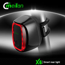 Bike Lights Bicycles ponents Shenzhen Meilan X6 Led Bicycle