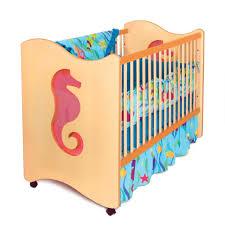 Amazon Com 4 Piece Baby by Amazon Com Room Magic Crib Toddler Bed Seahorse Seahorse