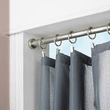 Telescopic Curtain Rod Ikea by Tension Rod Curtains Interior Design
