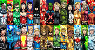 Superhero Comic Wall Decor by Custom Wall Decor Dc Comics Poster Superheroes Decals Justice