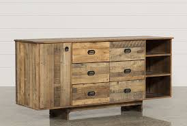 Hayworth Mirrored 3 Drawer Dresser by Atticus Chest Living Spaces