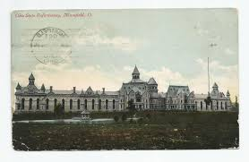 Mansfield Ohio Prison Halloween by Vintage Postcard Mansfield Ohio State Reformatory Prison Jail