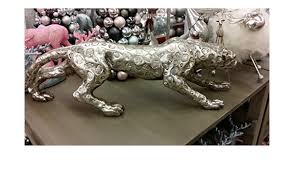 عرضي تلقيح كينت leopard figur silber
