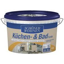 feuchtraumfarbe küchen und badfarbe sandfarben 2 5 l