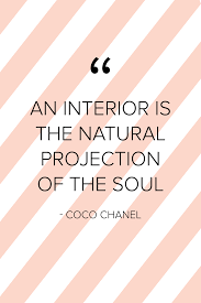 100 Words For Interior Design An Interior Is The Natural Projection Of The Soul Coco