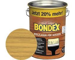 bondex holzlasur eiche hell 4 8 l 20 gratis