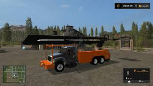 100 Truck Mods Frightlinner Bucket V20 FS17 Farming Simulator 17 Mod FS