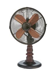 Decorative Oscillating Floor Fans by Kipling Brown Copper Adjustable Height Decorative Oscillating