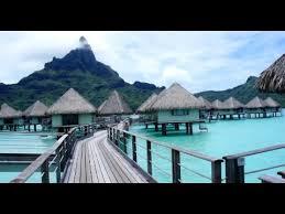 our overwater bungalow at le meridien resort bora bora