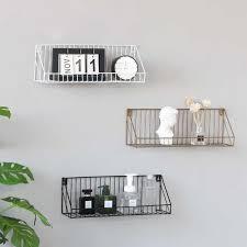 metall schlafzimmer wand regal montiert lagerung rack für