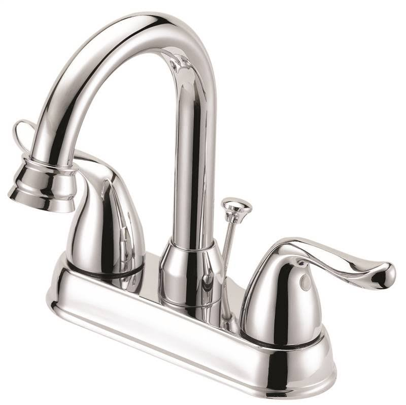 Boston Harbor Lavatory Faucets - 2 Handle, Chrome