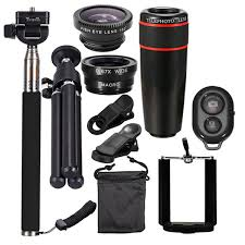 10 In 1 Smartphone Camera Lens Cell With Clip Universal Optical