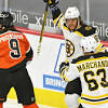 Flyers Give Away a Game to Bruins With Penalty-Ridden Collapse