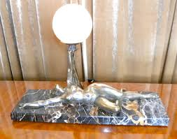 Airplane Lamp Art Deco by Art And Statues Sold Statues Art Deco Collection
