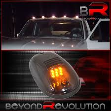 100 Running Lights For Trucks Audi Volve 5Pc Amber Led Smoke Roof Cab Marker Parking