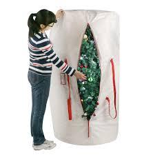 Christmas Tree Storage Bin Home Depot by Christmas Tree Storage Bags Christmas Lights Decoration