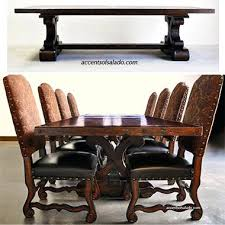 Old World Dining Table Long Extension