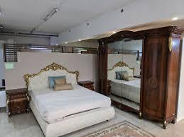 italienische schlafzimmermöbel in barock stil walnuss ebay