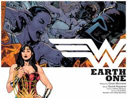 With Every Reading Of Wonder Woman Earth One I Hate It A Little Bit More