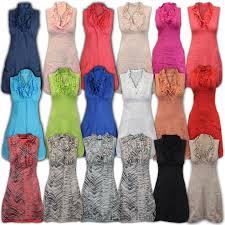 ladies dress womens top italian linen tunic ruffle collar fashion