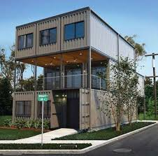 100 Containers Home ThreeStory W Balcony Prefab Shipping Container