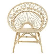 siege en rotin decoration com fauteuil rotin vintage