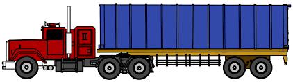 100 Powered Industrial Truck Clip Art
