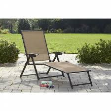 Jacqueline Smith Patio Furniture by Jaclyn Smith Today Brookner Sling Folding Chaise Lounge Shop